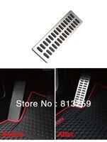 For VW Golf Tiguan CC Magotan / Audi Q3 Q5 A4 A6 A8 stainless steel Rest pedal