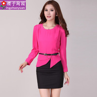 Work wear women skirt work wear uniform set women's fashion skirt tooling