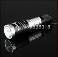 5 pcs a lot 1000 Lum TrustFire Zoomable CREE XM-L T6 LED Zoom Flashlight Torch Light Lamp Z8