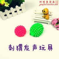 Pet toy vocalization hedgehog dog toys cat toy color