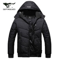 2013 autumn and winter SEPTWOLVES thickening wadded jacket cotton-padded jacket men's clothing winter outerwear male casual
