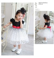 Beautiful Lace Tutu Dress for Baby Girls Princess Kids Party Clothes New Arrival Summer Fashion Children's Wear Bebe Clothing