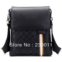 genunine leather casual men's shoulder bag vertical section gentlemen's shoulder bag