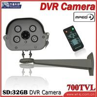 free shipping   SD card recording one machine super SD card recording one machine recording DVR SD card DVR camera
