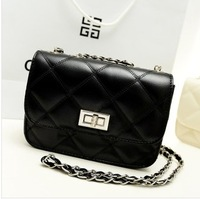 Hot-selling 2013 small metal chain square messenger bag one shoulder all-match small bags women's handbag
