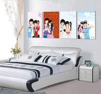 4 Pieces Wall Art Picture Wall Picture Home Decor Printed Paintings Modern Picture young for you for our Youthful vitality
