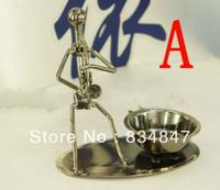 Handmade Iron Man Ashtray Metal ornament