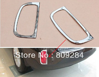 Free shipping! 2013 Sorento 2 pcs ABS chrome rear fog light cover,lamp cover,fog light bezel for Sorento 2013