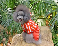Defeng pet clothes dog clothes winter wadded jacket