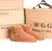 Wgg snow boots 5857 lovers design low boots winter boots cow muscle outsole