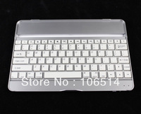 New White Aluminum Case Bluetooth Wireless Keyboard Dock for Apple New iPad 5 iPad Air