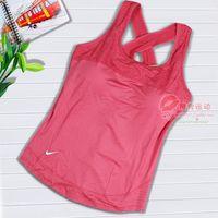 Yoga clothes upperwear yoga clothing leotard fitness sports vest female pad spaghetti strap vest