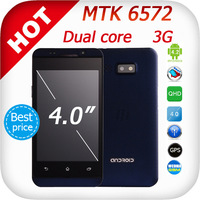 Best price ! MTK6572 phone Dual core 4.0inch Android 4 3G GPS i5C 5c 5s S4 Smart phone