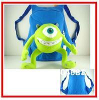 Monsters Inc Mike Wazowski high Monsters University Wazowskidoll plush plush child girl and boy School bag baby kid backpack