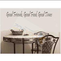 Good friend x3 carved wall stickers