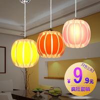 Dining room pendant light multithread brief fashion modern luminaire lighting romantic rustic spherical