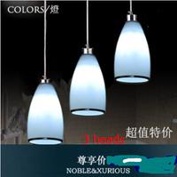2014 Hot Sale Knob Switch Lustres De Sala Luminaria Co Modern Brief Led Restaurant Lights Pendant Light Lamp Bar Limited Edition