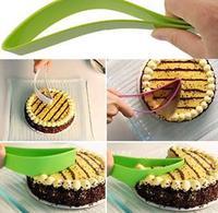 Baking tools birthday cake scraper cake knife bread cutting knife 5PCS/LOT free shipping color random