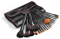 Pupa viewsonic 21 wool black cosmetic brush set professional set cosmetic tools