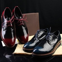 Men's Shoes 2014 New Arrive Men Shoes Genuine Leather Casual Men Shoes, Fashion Summer Men's Flat Sneakers, Hot, Free Shipping