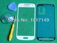 Original White Outer Screen Top Glass for Samsung Galaxy S4 SIV mini i9190 +Tools + Adhesive MOQ:1pcs