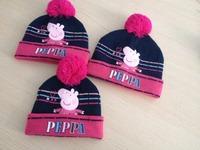 peppa pig  cap  baby hats