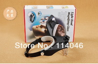 4 Lens 1.2x 1.8x 2.5x 3.5x Magnifier, Head Magnifier with 2 LED Headlamp, factory price