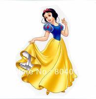 Free Shipping~10 pcs/lot Wholesale Heat Transfer  snow white princess Iron On patches rhinestones Applique Badges