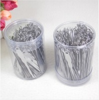 500pcs/lot New Arrival Stainless Steel Silver Ear Pick Ear Wax Removal Cleaner EarPick Home Health Care Tool Wholesale