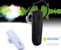 Free shipping, Black / White LB-350S stereo 3.0 Wireless 2 in 1 talk Bluetooth Headset For Universal