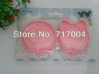 Min Order $18 (mixed order)2pcs Doraemon  Cartoon Cookie Cutter Cake Tools