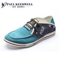 2013 male leather genuine leather first layer of cowhide leather shoes men