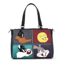 Braccialini 's same designer Italy women's handbag fashion cartoon color block mini bags handbags messenger bag NOT braccialini