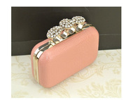 New arrival!!! Luxury flower rings evening bags,Lady crystal diamond clutches,bridal wedding party bags handbags XP128