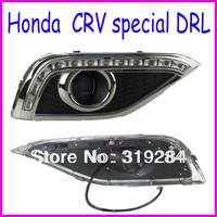 High Power Auto LED Lamps Lights DRL for Honda CRV Car Daytime Running Light single-track signal light