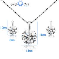 Quality 925 sterling silver jewelry set for women #CJ0222 2013 Fashion jewelry wedding jewelry set