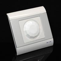 Smart Light & Infrared PIR Motion Occupancy Sensor Auto ON/OFF Wall Switch 220V