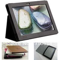 "Litchee Texture Magnetic Folio Leather Stand Case Cover Pouch For Lenovo IdeaTab 10.1"" S6000 10.1inch WIFI 3G Tablet PC DHL"