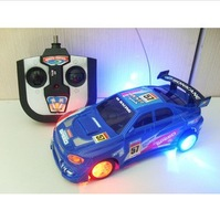 Free shipping 3 color remote control car electric flash light  remote control carThe speed drift flash remote control car