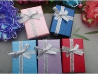 Wholesale 4x6x2.5cm Multi color Jewelry Sets Box ,Necklace Earrings Ring Box Packaging Box , 40pcs/lot,Free Shipping,JDB-226
