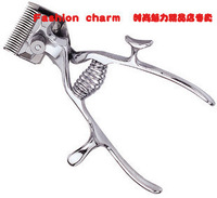 Old fashioned hand clippers manual hair clipper plier hair clipper old fashioned manual separateth knife