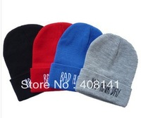"Bad Hair Day Beanie hat ""hat knitting wool cap cap winter snow cap"