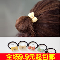 6032 fashion small rabbit bow headband hair rope hair accessory 5
