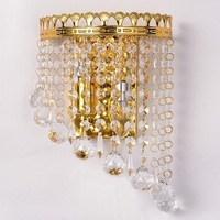 high quality luxurious crystal wall lightings bedroom lightings E14 ports christmas  lightings