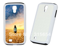 2 in 1 S4 DIY Sublimation Blank Phone Case honeycomb silicone inside for Samsung Galaxy S4 i9500,100pcs/lot