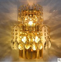high quality luxurious creative crystal wall lightings bedroom lightings E14*3 ports christmas  lightings