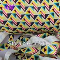 Triangle Fold Over Elastic - Printed FOE - 5/8 inch FOE - 50 Yards/Roll- Shiny for elastic Headbands