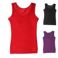 Thermal vest female plus velvet women's thermal underwear basic thickening thermal