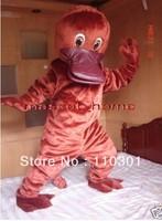 New Adult Size  Platypus Duck Mascot Cartoon Mascot Costume Fancy Dress Free Shipping