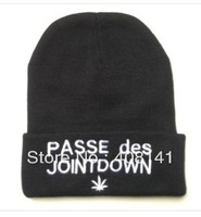 PASSE DES JOINTDOWN hat bboy knitted cap stretch cap hip-hop cap hip-hop cap